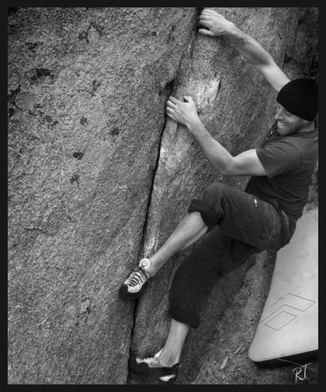 Rock Climbing Photo: Micha