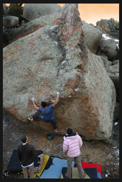 Rock Climbing Photo: more info on the sweet water boulders soon