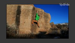 Rock Climbing Photo: Pathfinder, Cottonwood Lake has a mashed scene of ...