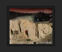 Rock Climbing Photo: Daylight Runaway. v5 Pathfinder Marina Wy