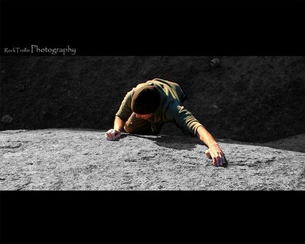 Rock Climbing Photo: Learning curve V2