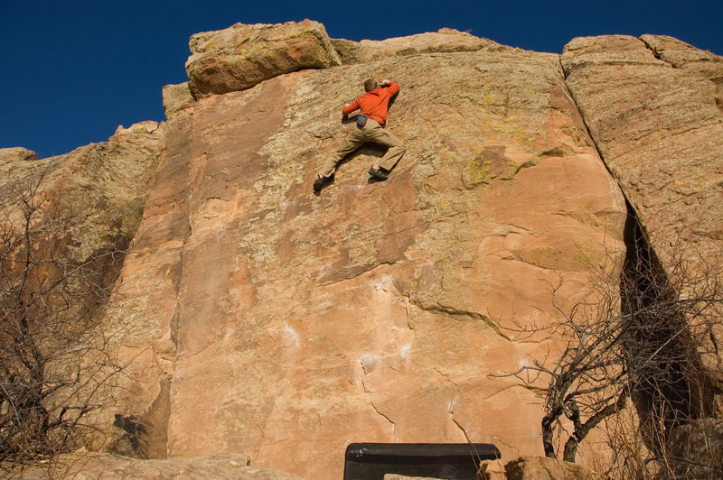 Rock Climbing Photo: Bolt Wall...