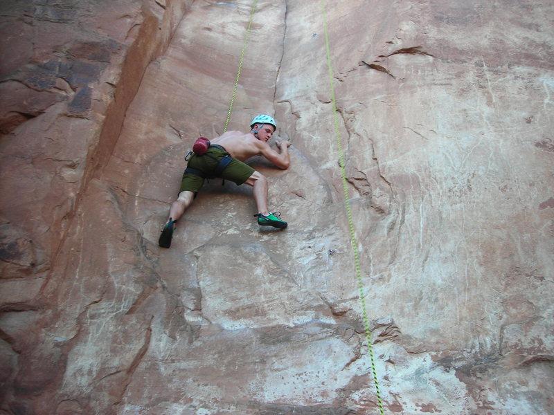 Rock Climbing Photo: Lacto Mangulation - 5.10b