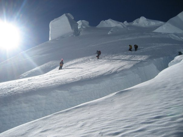 Huascaran climbing.