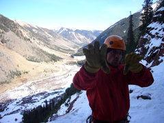 Rock Climbing Photo: On the DNF of peak 12579.