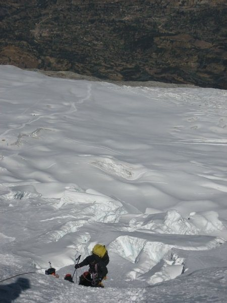 Rock Climbing Photo: Huascaran-climbing.