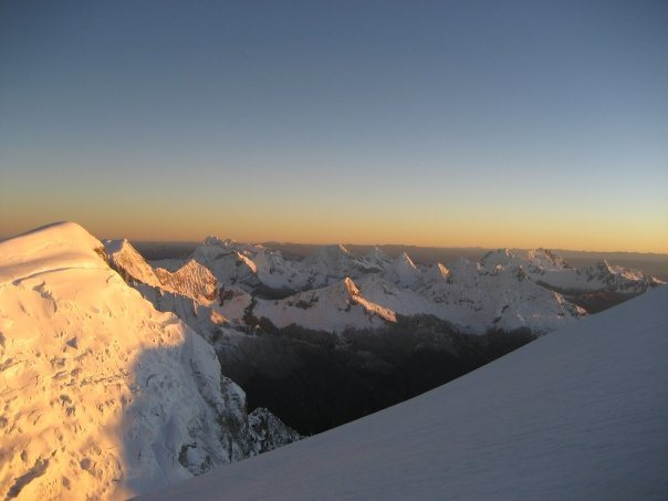Huascaran -cordillera blanca.