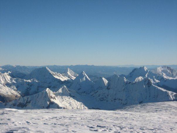 Rock Climbing Photo: Huascaran Summit.Peru