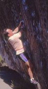 Rock Climbing Photo: The only problem I could ever pull on the Mushroom...