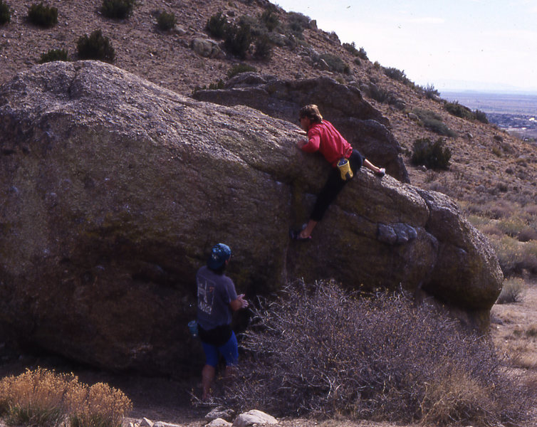 Rock Climbing Photo: John's World. AKA open space boulders Albuquerque ...