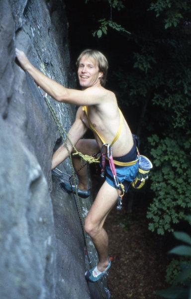 "Rock Climbing Photo: Tom Gibson, AKA California Tom. Greatest ""off..."