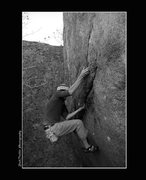 Rock Climbing Photo: Project yet to be sent by Mike Ranta.