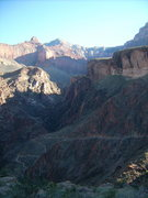 Rock Climbing Photo: Bright Angel Trail, Grand Canyon, 2007.  Rim-to-ri...