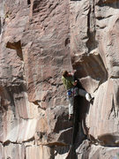 Rock Climbing Photo: Moving into the business of little fingers.