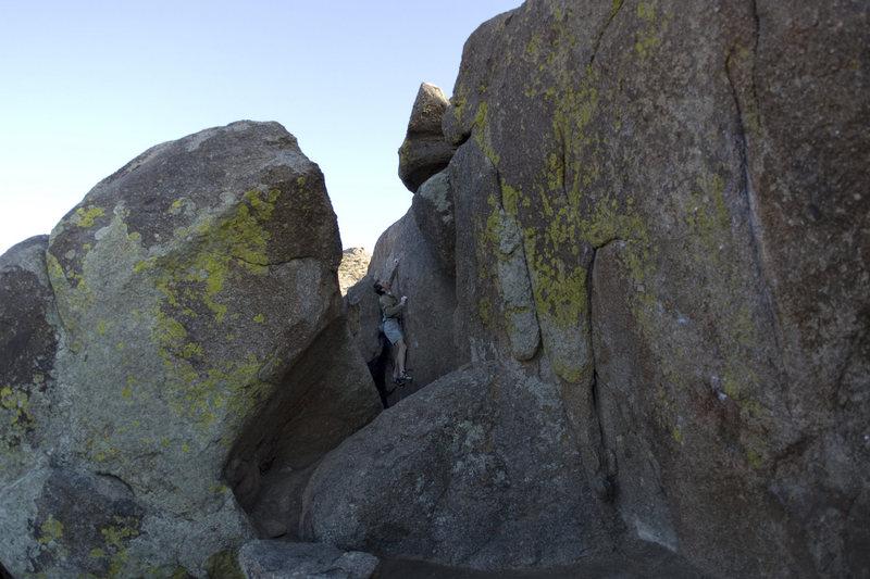 Rock Climbing Photo: crimps...
