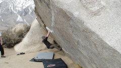 Rock Climbing Photo: a view of the traverse