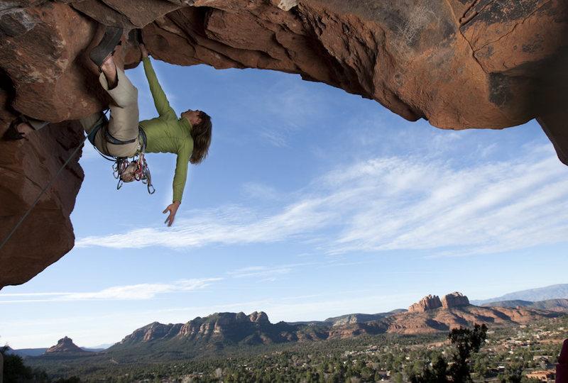 Rock Climbing Photo: Do The Bosco in Sedona, AZ.  Photo by D. Berry for...