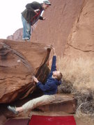 Rock Climbing Photo: attack!