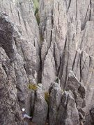 Rock Climbing Photo: Behind spire Five.  Is there any room left for new...