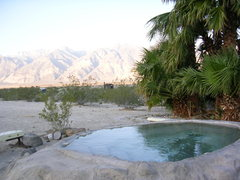 Rock Climbing Photo: Saline Valley Hot Springs, Death Valley NP. Not-so...