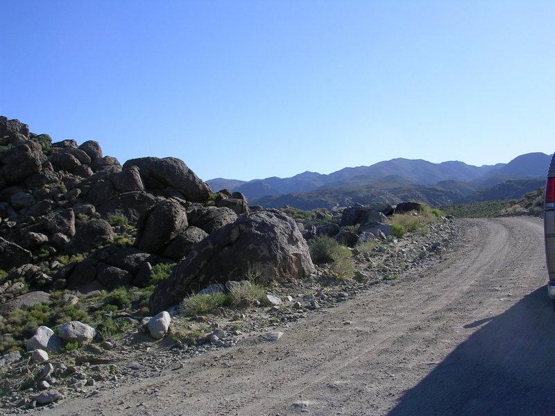 Saline Valley Granite.