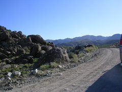 Rock Climbing Photo: Saline Valley Granite.