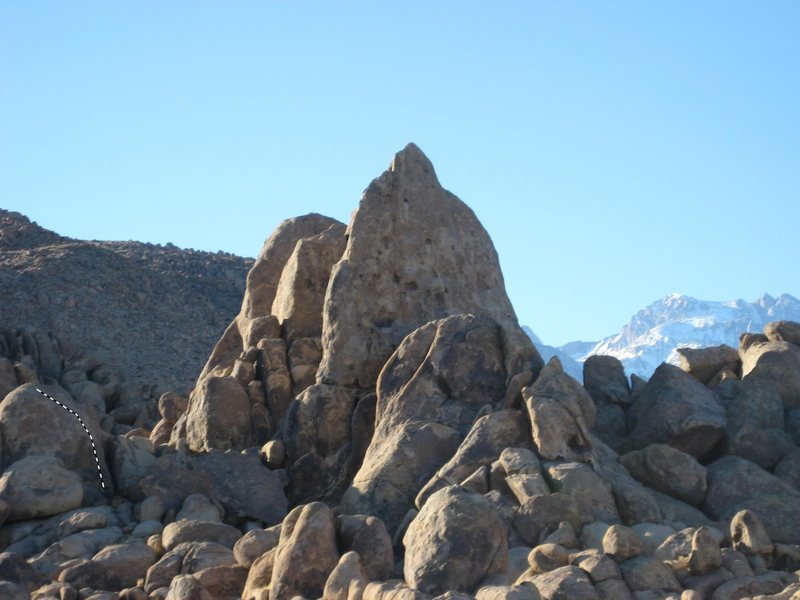 Rock Climbing Photo: Looking west toward the Penguins in late afternoon...
