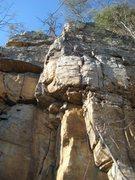 Rock Climbing Photo: fun 10a at Twall