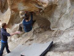 Rock Climbing Photo: Man Overboard (V2).