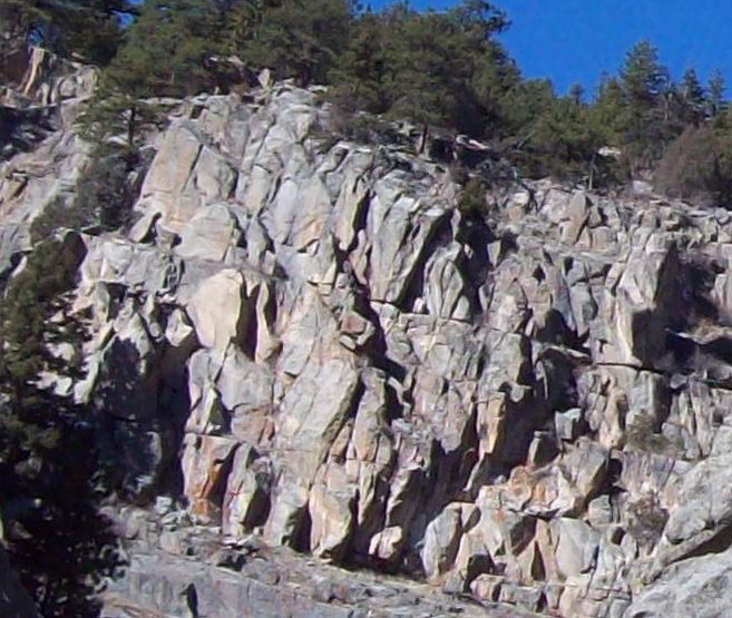 Rock Climbing Photo: The Sector is found on the southwest face of the p...