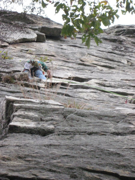 Rock Climbing Photo: Gunks, Limelight 5.7