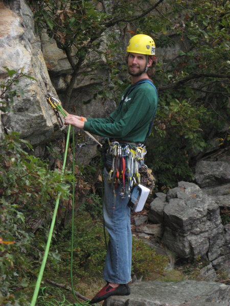 Rock Climbing Photo: Rappeling