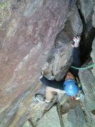 Rock Climbing Photo: Bastille Crack Final Pitch