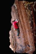 Rock Climbing Photo: swiss cheese, upper deck