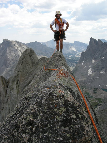 East Ridge, Wolfs Head, Cirque of the Towers, WY