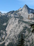 Rock Climbing Photo: View of Roan Wall & Salish Peak from Squire Creek ...