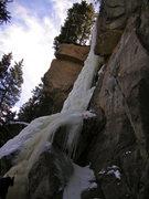Rock Climbing Photo: Hidden Falls, February 22, 2009.