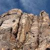 Climbing on Queen Mountain.<br> Photo by Blitzo.