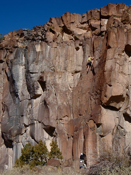 Rock Climbing Photo: Beginner's Hand Jam
