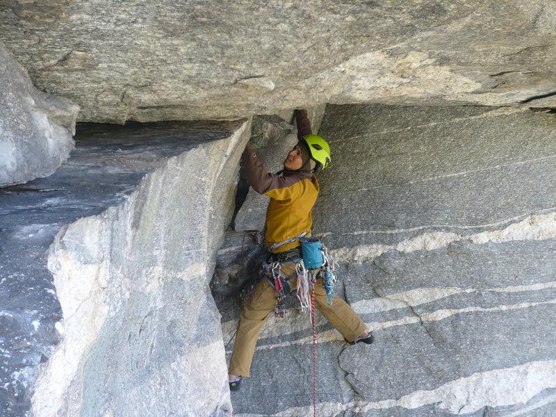 Rock Climbing Photo: The FA of Full Scholarship