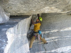 Rock Climbing Photo: The FA of Full Scholarship