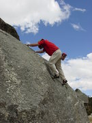 Rock Climbing Photo: Theres some good bouldering at the base camp and s...