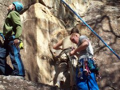 Rock Climbing Photo: Size Matters