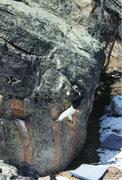 Rock Climbing Photo: Suburbia Block. Southeast Arete.