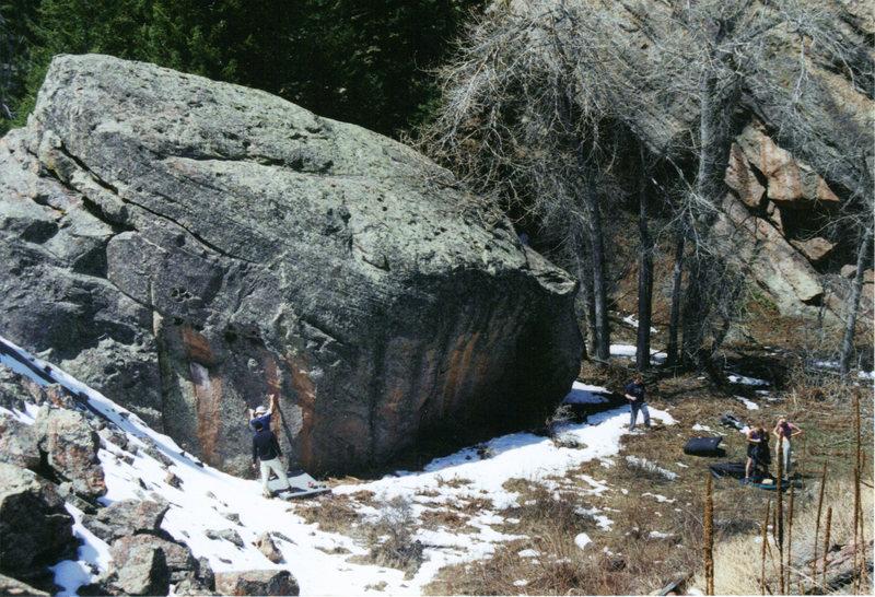 Rock Climbing Photo: The Suburbia Block.