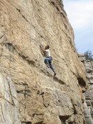 Rock Climbing Photo: Aleix Serrat-Capdevila beginning the sustained sec...