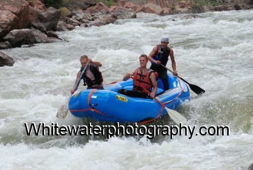 Rock Climbing Photo: Rafting the Royal George