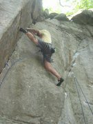 Rock Climbing Photo: Knower on DD