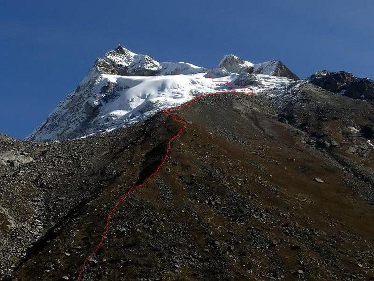 Rock Climbing Photo: Lower slopes