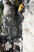 Rock Climbing Photo: Climbing at Blue Cloud near Helena, MT.